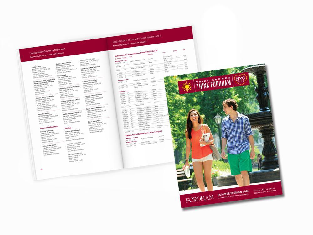 Fordham Summer Session Catalog