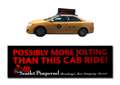 Taxi Top for The Scarlet Pimpernel