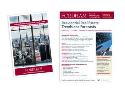 Real Estate Flyer/Brochure for Fordham