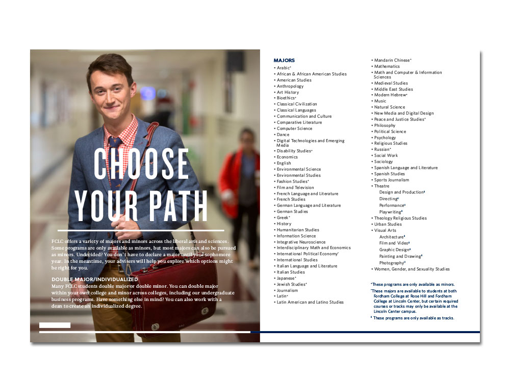 Choose your path spread from Mini Mag
